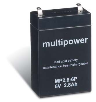 Ersatzakku kompatibel PL 838 PL-838 PL 838 6V 6 Volt 5,5Ah AGM Blei Vlies Accu