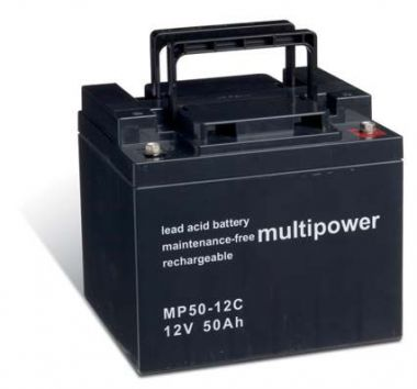 Multipower MP50-12C Bleiakku 12V 50Ah zyklenfest
